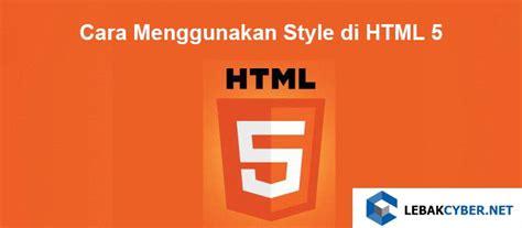 cara menggunakan youthmax di anonytun cara menggunakan style di html 5 lebak cyber