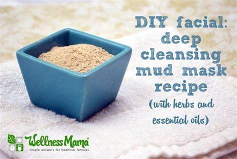 diy cleansing mask cleansing mud mask recipe honey bentonite and