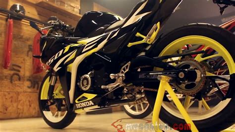 Modification Cbr 150 New by All New Cbr 150r 2016 Modification Stylish 2