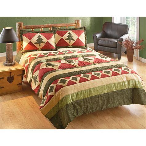 castlecreek pinecone chenille comforter set 514354