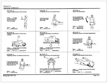 printable home exercise program for elderly upper extremity theraband exercises pictures to pin on
