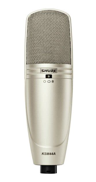 Mic Microphone Shure Ksm 999 High Quality shure ksm 44a multi pattern microphone zzounds
