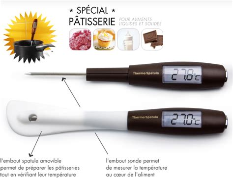 thermometre cuisine compatible induction thermometre patisserie thermometre patisserie sur enperdresonlapin