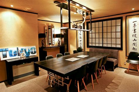japanese home decorations   dining room home
