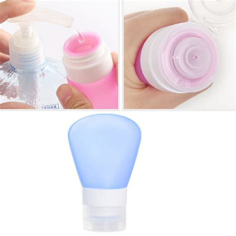 refillable bottles silicone bottle container storage travel portable emulsion shoo cosmetic