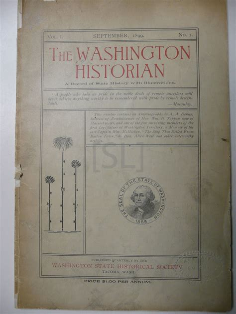 Washington State Records Washington Historian A Record Of State History With