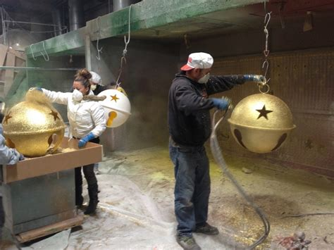 diy giant christmas bells world ornaments barrango mfg