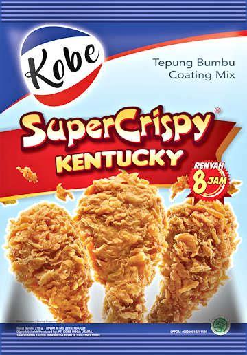 ayam kentucky super crispy resep  dapur kobe