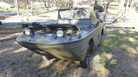 Gpa Hibious Vehicle For Sale   1942 ford gpa restored swimmer amphibious jeep military