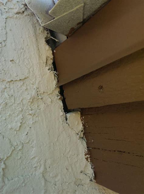 filling gap  stucco doityourselfcom community forums