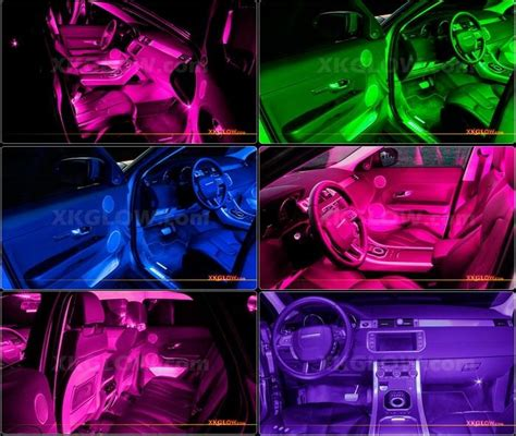 Pink Interior Car Lights by Pink 36 Led Car Interior Seat Dashboard From Xk Led On Ebay