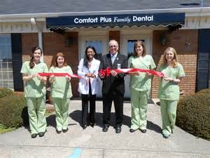 comfort dental central recent ribbon cutting events