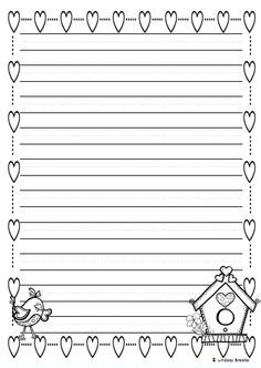 printable january writing paper writing papers paper templates and back to school on