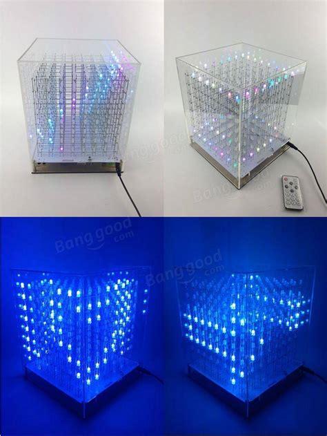 rgb xx led cube  light square electronic diy kit sale