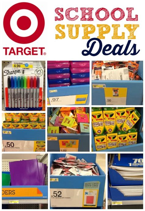 back to school supplies sale target school supply deals and price list