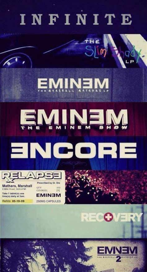 eminem discography 17 best images about eminem quotes on pinterest don t
