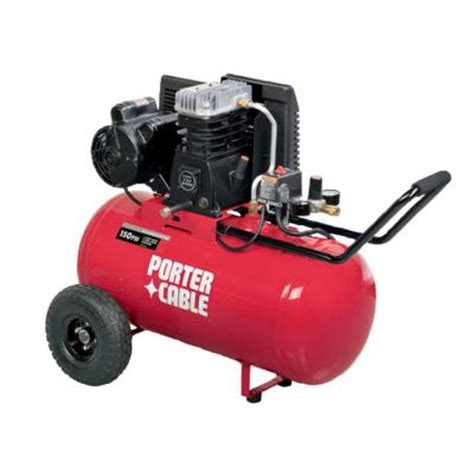 porter cable 20 gal portable electric air compressor