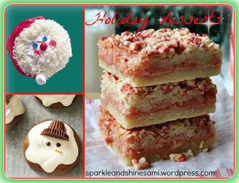 christmas dessert ideas 2 sparkle and shine
