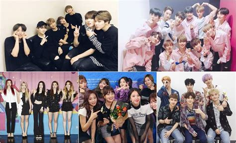 Masker Rempel Kpop Bts Exo Wanna One Blackpink Got7 Seventeen Etc from junior to bts check out top performers in 2017 mnet asian awards