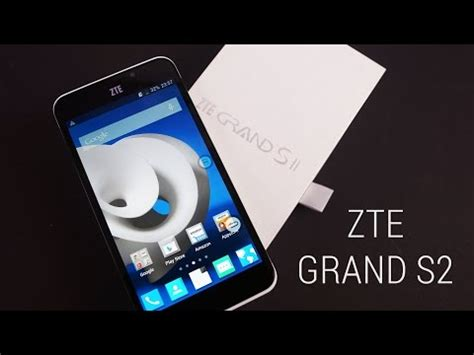 zte grand s ii video clips