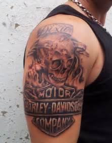 Top 8 harley davidson tattoo designs styles at life