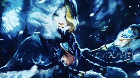 dota 2 rylai wallpaper 5972 dota 2 crystal maiden cool wallpaper walops com