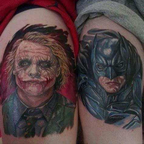 joker tattoo shoulder tattoo batman joker arm shoulder man uncategorized