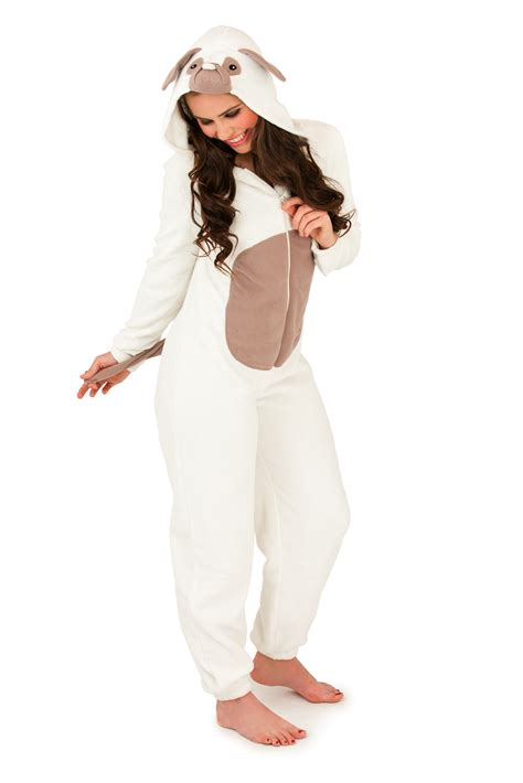 pug onesie womens hooded ears onesie cat pug jumpsuit pyjamas size 6 16 ebay