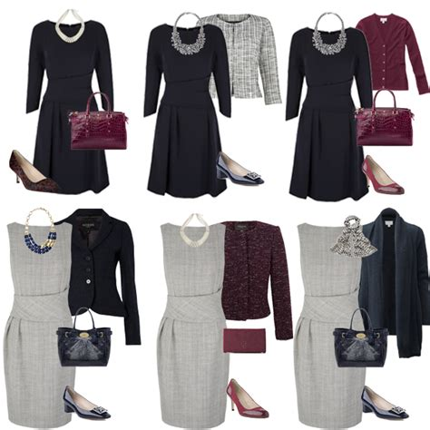 Business Wardrobe For by How To Build A Capsule Wardrobe Business Wear Looking