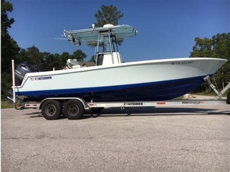 25 contender boats for sale contender 25t boats for sale