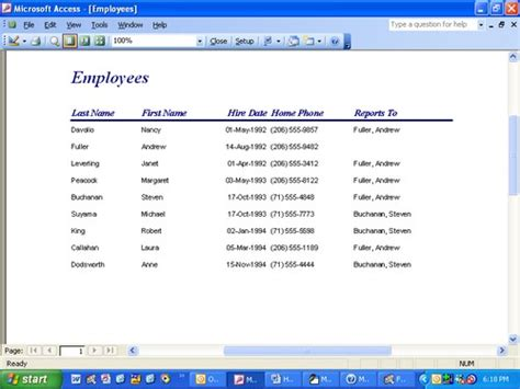 How To Access Records How Do I Print A Single Microsoft Access Record In Form View Techrepublic