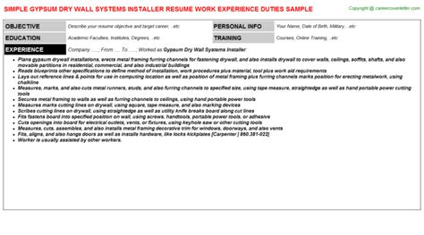 Security System Installer Cover Letter by Personal Statement Customer Service Physical Security Specialist Resume Resume Template