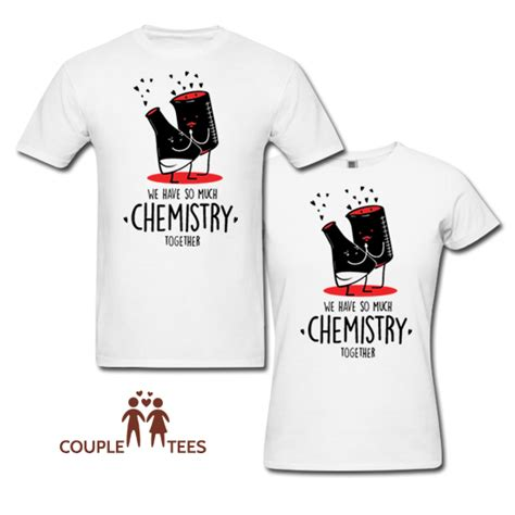 Matching T Shirts India Chemistry Together Matching T Shirts From