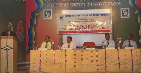 Mba Conference April by A National Seminar At Srinivas Institute Of Technology