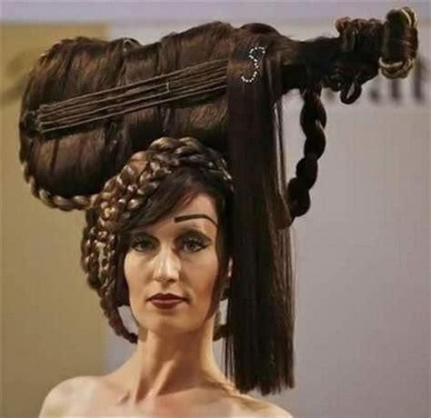 rare hair cuts 15 most crazy and weird hairstyles strange hairdo
