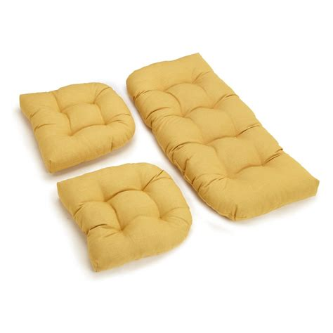 Wicker Settee Cushion Set master bzn038 jpg