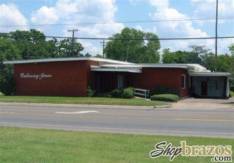 callaway jones funeral home crematory bryan tx