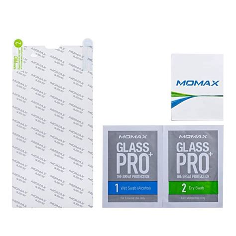 X Peria T3 Tempered Glass Screen Protector Anti Gores Kaca 1 momax glass pro 9h hardness tempered glass screen