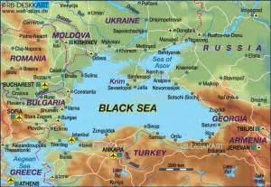 Black Sea On World Map by Map Of Black Sea Several Countries Map In The Atlas Of