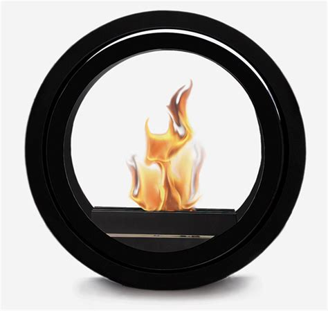 Rolling Fireplace by Ultra Modern Fireplaces Rolling Fireplace By Conmoto Ultra Modern Decor