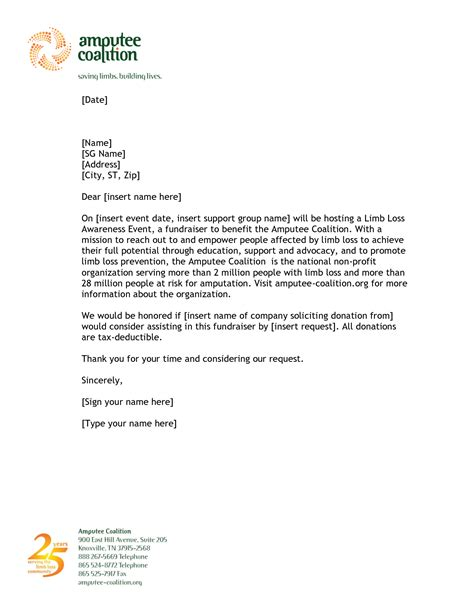 charity letter 20 best of letter template for donations graphics