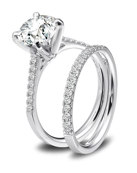 platinum engagement and wedding ring must haves blue nile