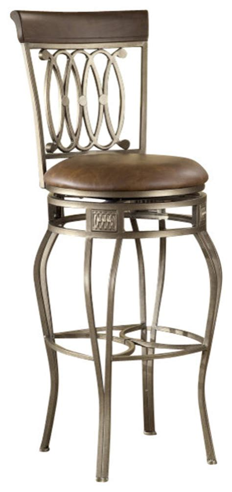 32 Inch Bar Stool Hillsdale Montello Swivel 32 Inch Barstool Traditional