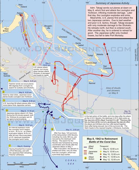 coral sea map battle of midway location www imgkid the image kid