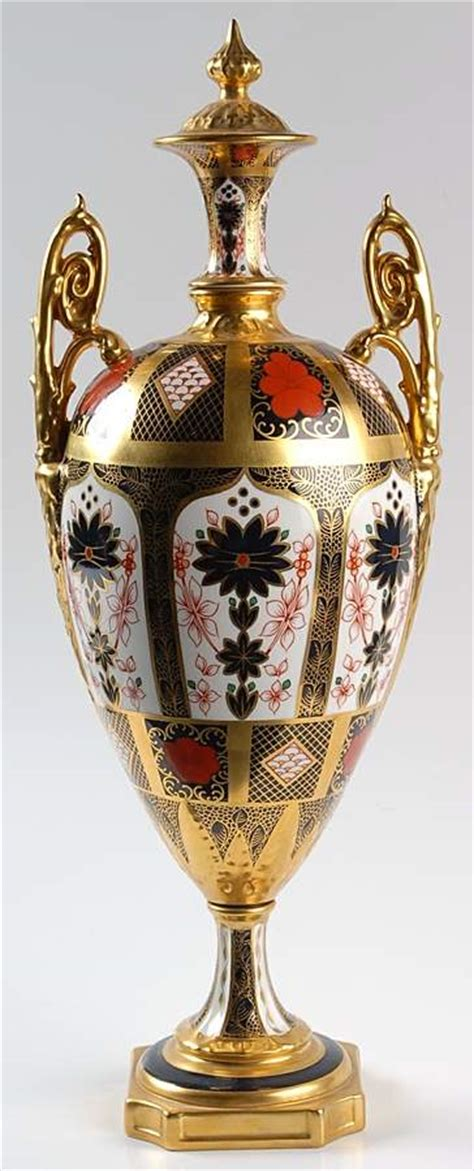 Royal Crown Derby Imari Vase royal crown derby imari decorative vase 3767871 ebay