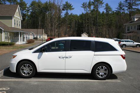 honda white car odyssey 2013 autos weblog