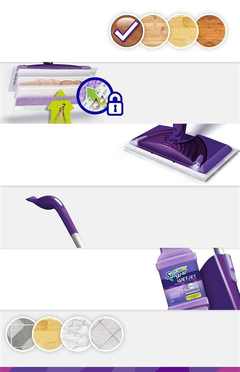 WetJet Mop Starter Kit   Swiffer