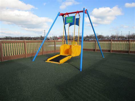 liberty swing playground at petzke park city of kenosha