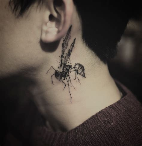 wasp tattoo neck wasp best ideas gallery