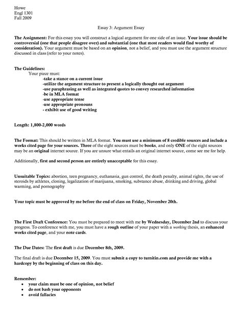 mla format paper template research paper outline template mla